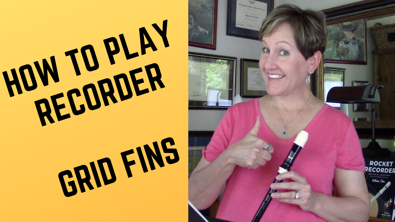 How to play recorder video