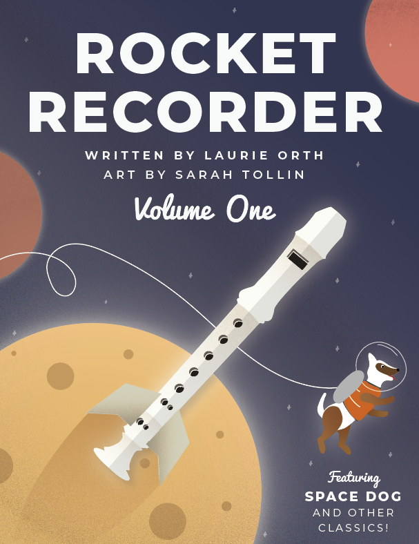 Laurie Orth_s Rocket Recorder Front Cover Art copy