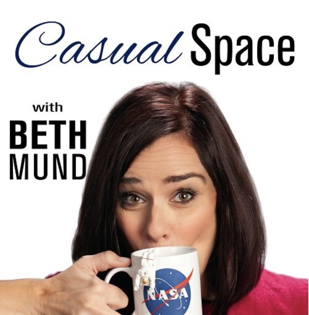 Casual Space Podcast Logo